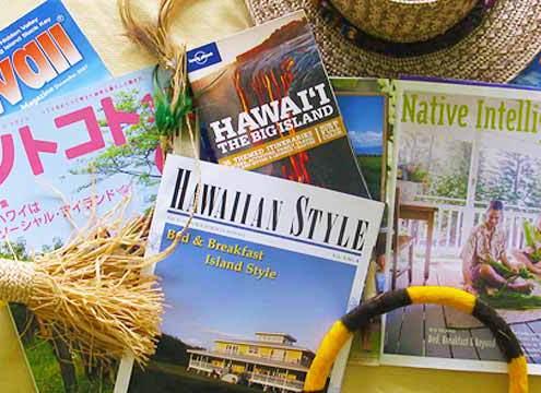 MagazinMagazines with articles about Kalaekilohana Inn & Retreat Hawaii