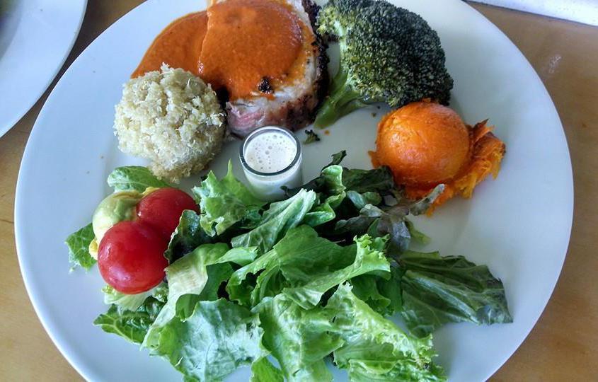 Island Fresh meals at Kalaekilohana Inn & Retreat