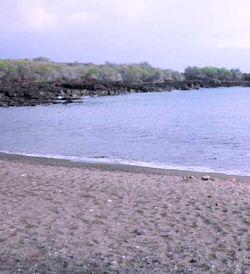 Honomolino Beach Hawaii