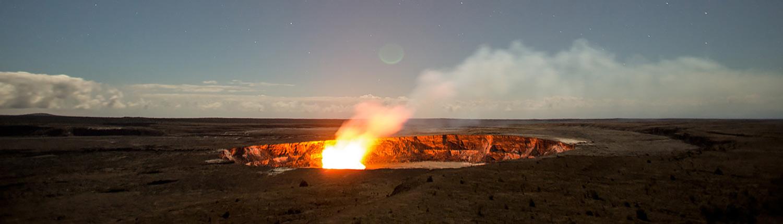Kilauea 'Iki crater