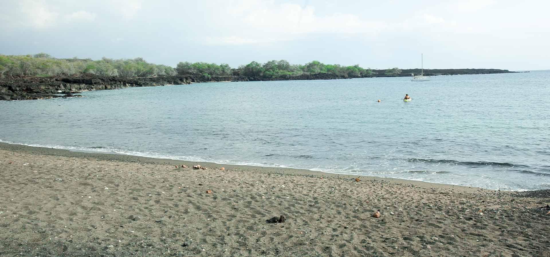Honomolino Beach