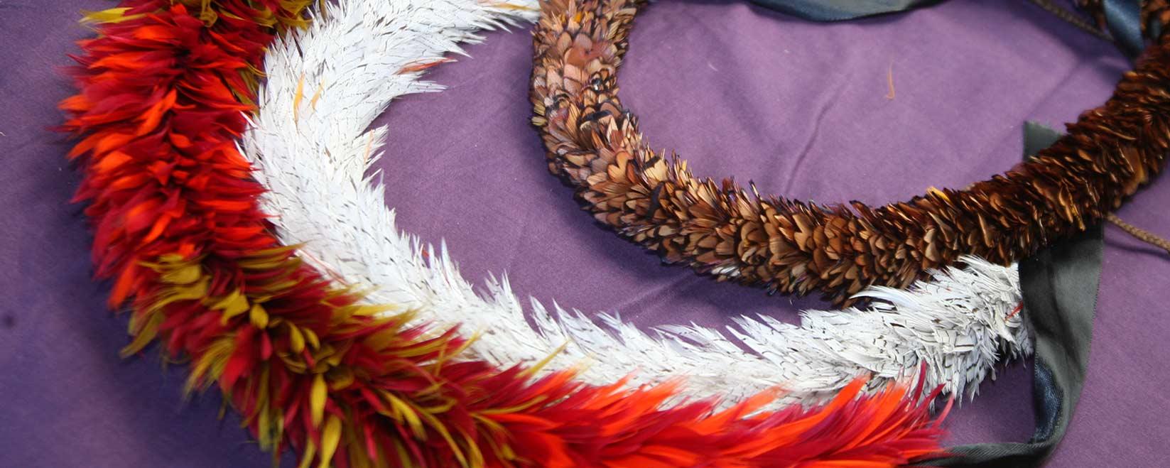 Hawaiian Feather Leihulu
